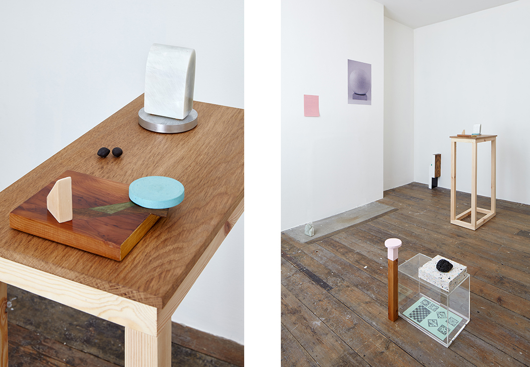 Installation by Sarah Hughes, One Dozen and Zero Units. South London Gallery. Images via the artist.