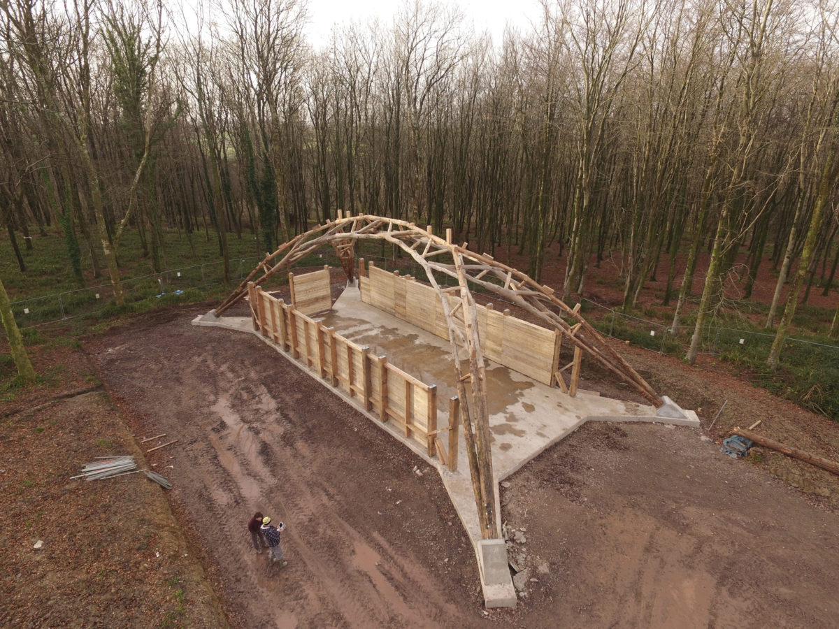 Design + Make's Wood Chip Barn