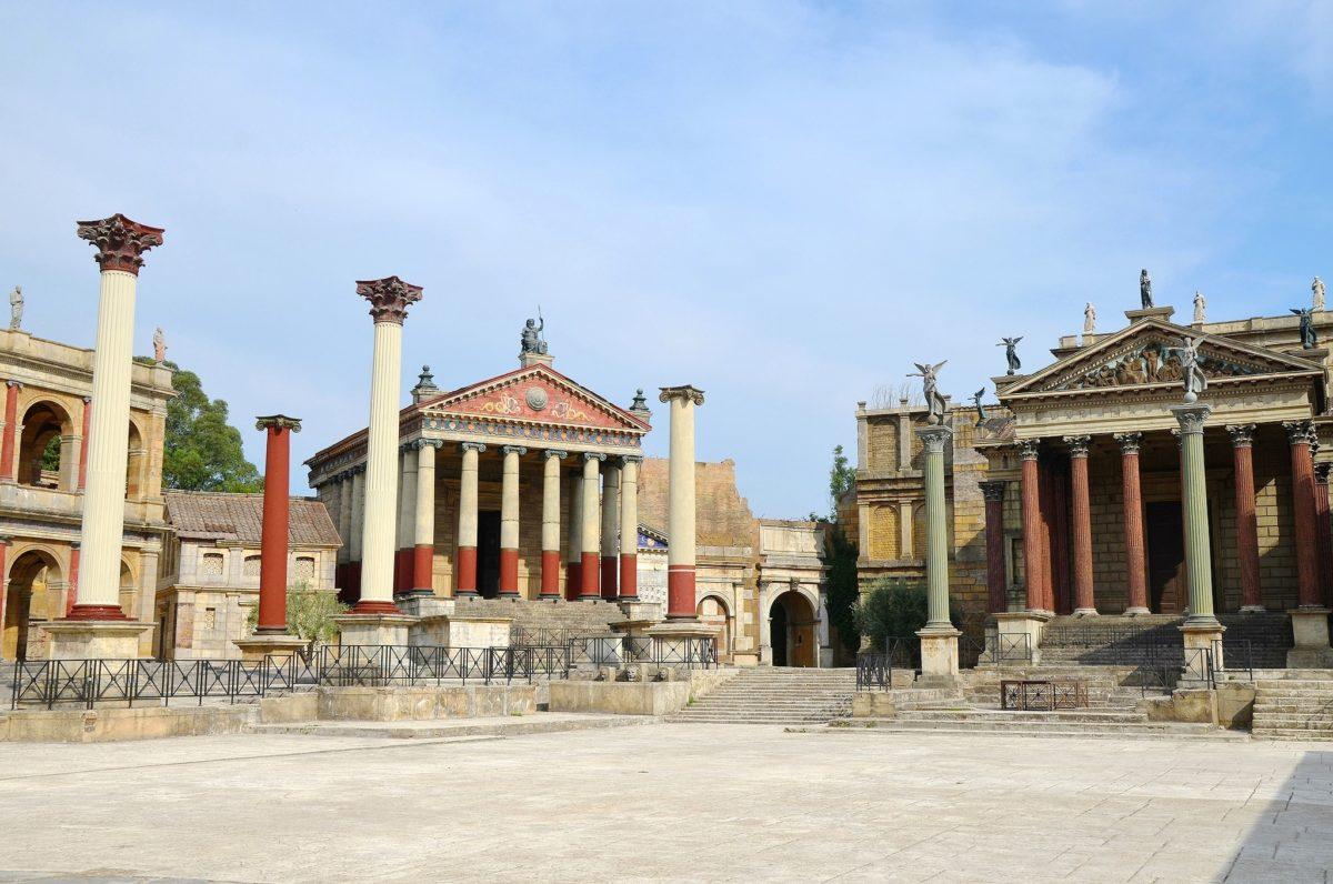 Set for Rome (Courtesy of Joseph Bennett)