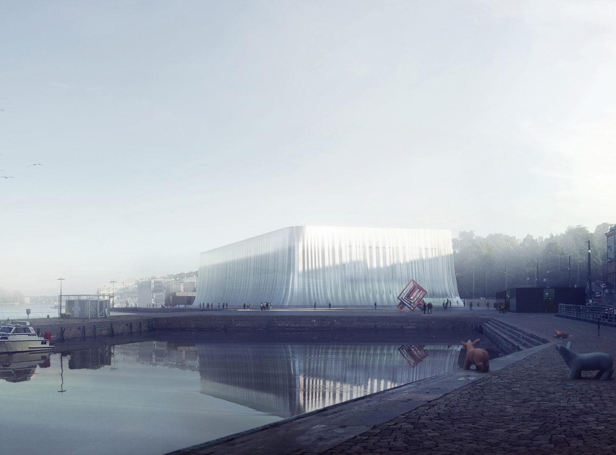Guggenheim Helsinki Proposal (via Asif Khan)
