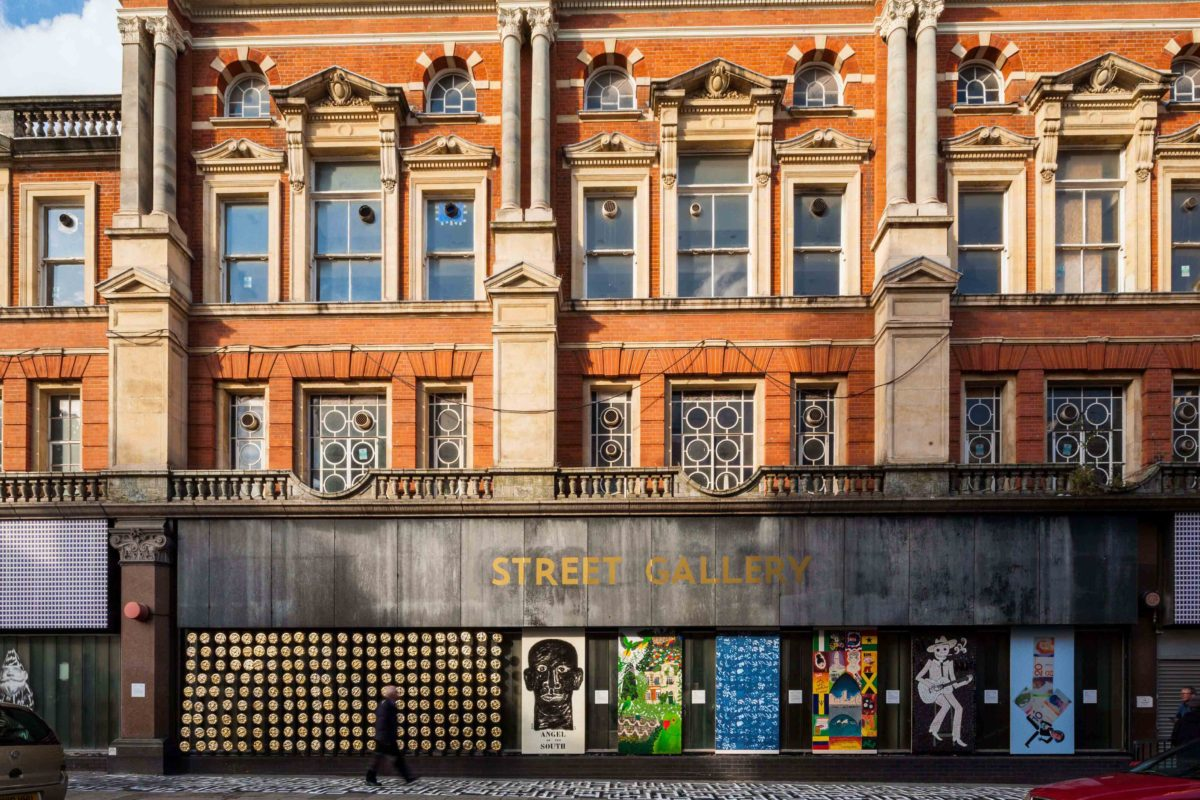 Brixton Street Gallery by Squire and Partners during London Design Festival 2015
