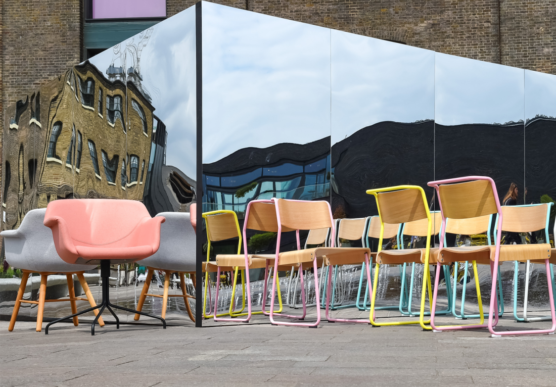 Design Junction will be held at King's Cross Granary Square