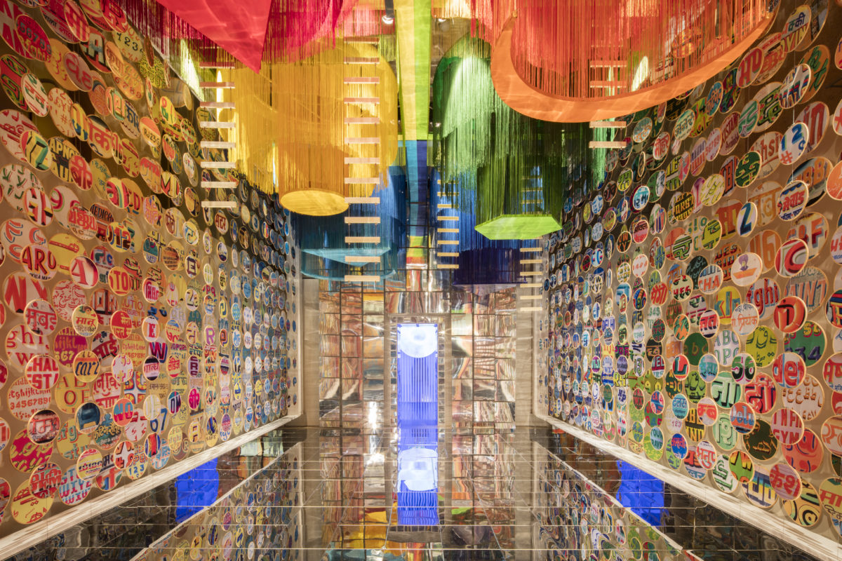 Chakraview Installation by Sumant Jayakrishnan designing for India (Photography by Ed Reeve)