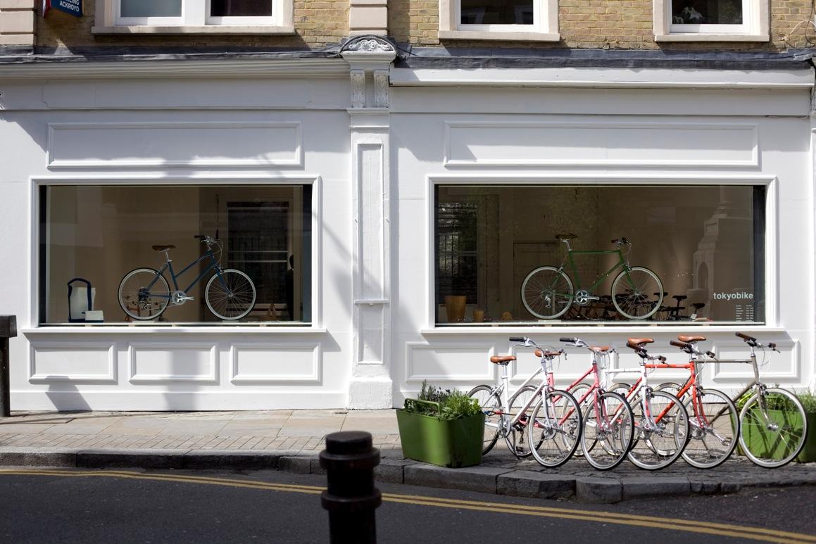 Tokyobike will provide bikes to cycle around the Shoreditch area (Via Orontas)