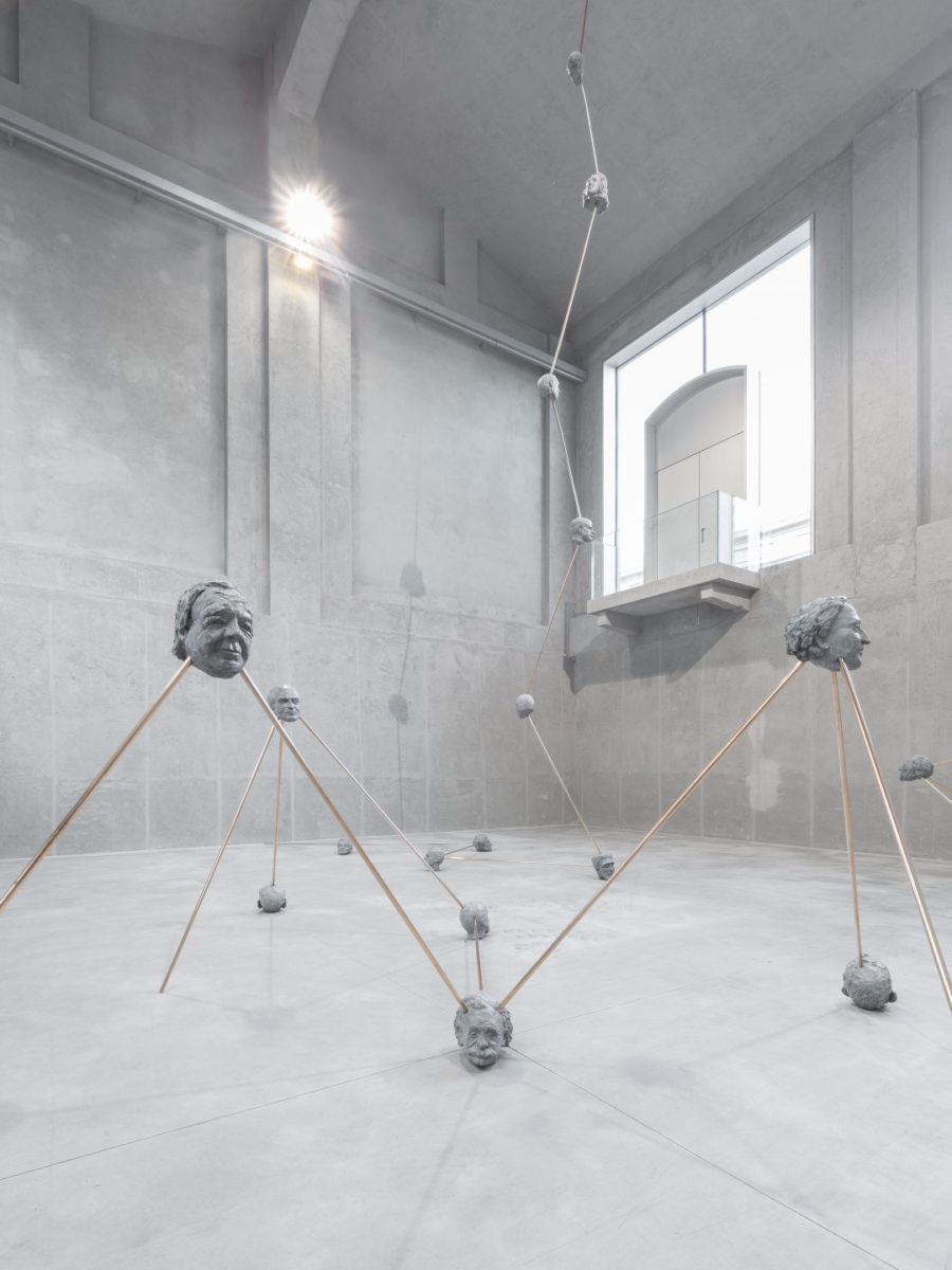 Goshka Macuga, To the Son of Man Who Ate The Scroll (via Fondazione Prada, Milano)