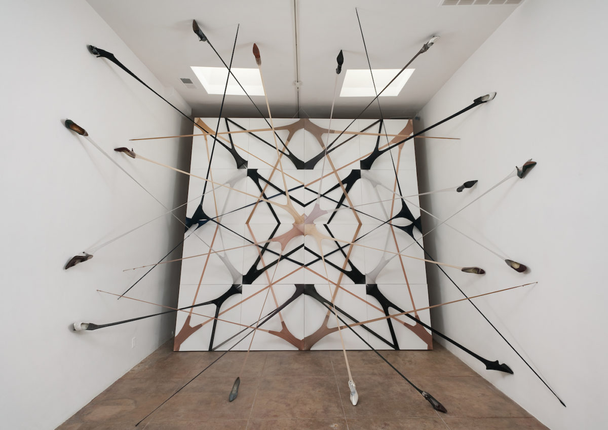 Martin Soto Climent, Frenetic Gossamer, Michael Benevento, 2011 (via Martin Soto Climent)