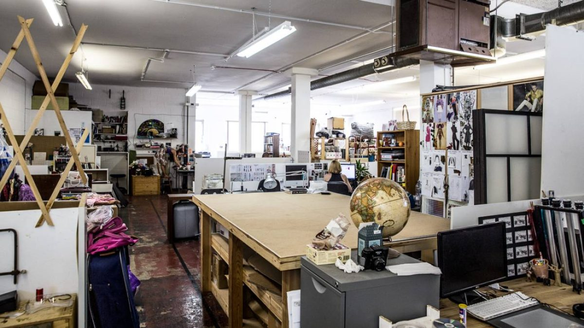 Heartspace Studio 23 at Hackney Downs Studios (Via Eat Work Art)