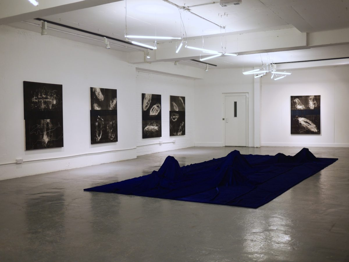 Installation view of Process of Elimination, Display Gallery, 2016