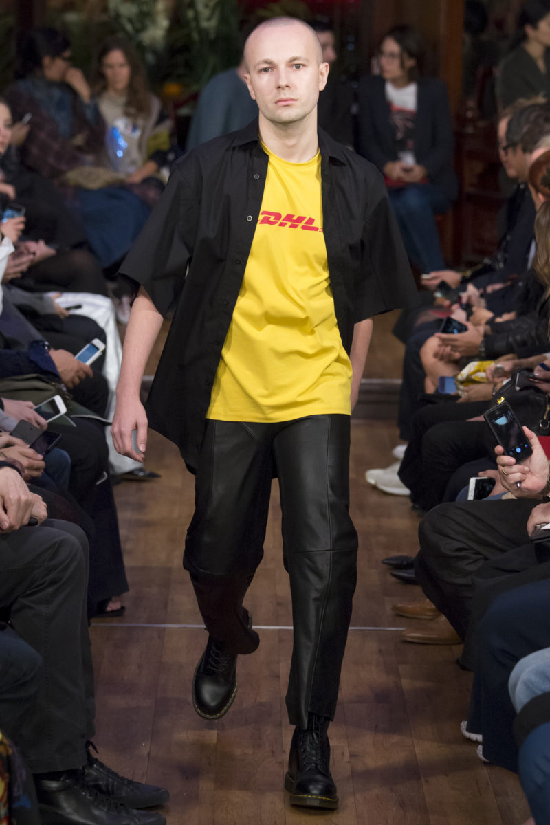 Vetements SS16 (via NOWFASHION)