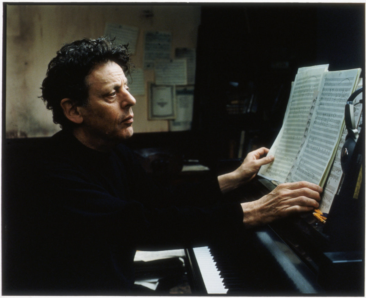 Philip Glass (via Pomegranate Arts)